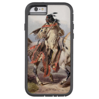 A Blackfoot Indian on horse-back Tough Xtreme iPhone 6 Case