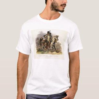A Blackfoot Indian on Horseback, plate 19 from Vol T-Shirt