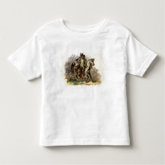 A Blackfoot Indian on Horseback, plate 19 from Vol Toddler T-Shirt