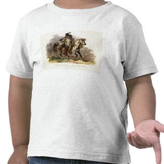 A Blackfoot Indian on Horseback, plate 19 from Vol Tee Shirt