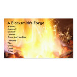 A Blacksmith's Forge Double-Sided Standard Business Cards (Pack Of 100)