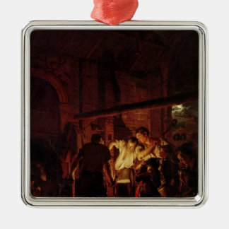 A Blacksmith's Shop, 1771 Christmas Ornament