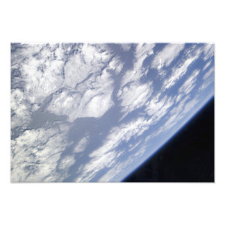 A blue and white part of Earth Photograph