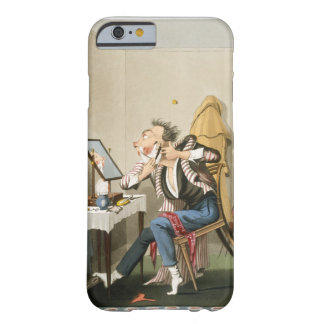 A Blunt Razor, pub. by Hunt, 1827 (coloured etchin Barely There iPhone 6 Case