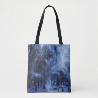 A Blustery Winters Eve Tote