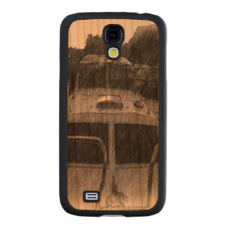 A Boat Carved® Cherry Galaxy S4 Case