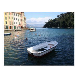 A boat in Portofino Italy Post Cards