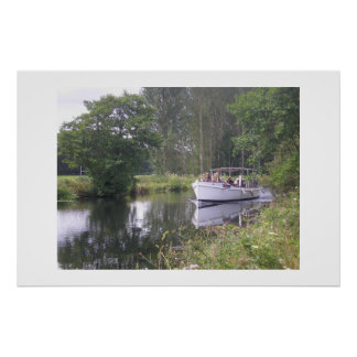 A Boat Trip On Exeter Canal Poster