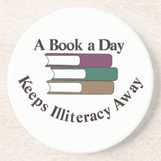 A Book a Day Coasters