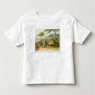 A Boosh-Wannah Hut, plate 7 from 'African Scenery Toddler T-Shirt
