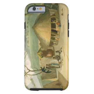 A Boosh-Wannah Hut, plate 7 from 'African Scenery Tough iPhone 6 Case