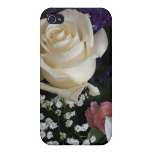 A Bouquet for you Covers For iPhone 4