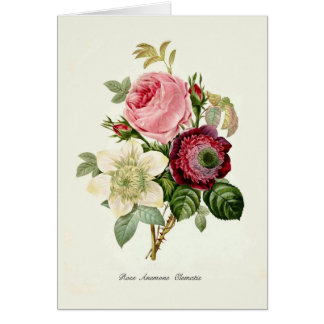 A Bouquet Of Flowers Card