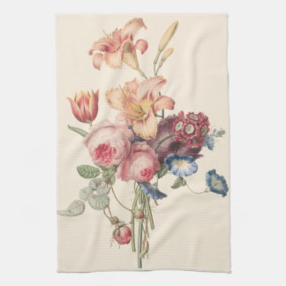 A Bouquet of Flowers Hand Towel