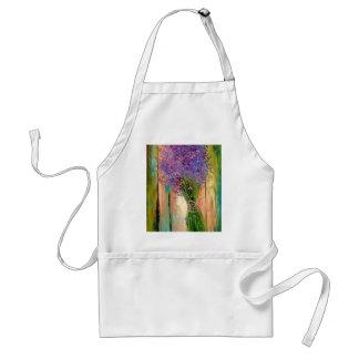 A bouquet of lavender standard apron