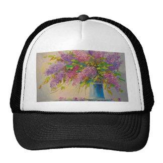 A bouquet of lilacs cap