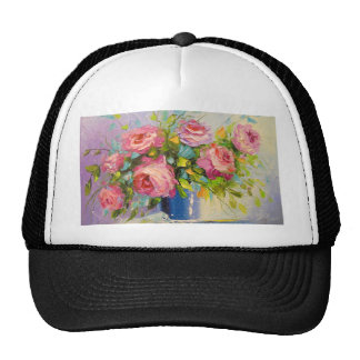 A bouquet of roses cap