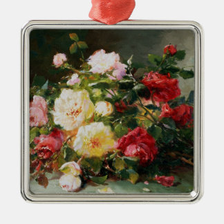 A Bouquet of Roses Christmas Ornament