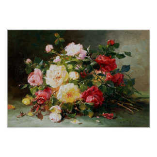 A Bouquet of Roses Poster