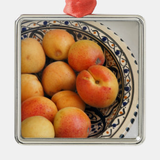 A bowl of Mediterranean Apricots 2 Christmas Ornament