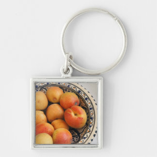 A bowl of Mediterranean Apricots 2 Key Ring