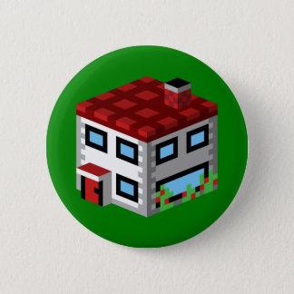 A Box Abode 6 Cm Round Badge