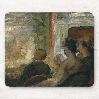 A Box at the Theatre, c.1865-70 Mouse Mat