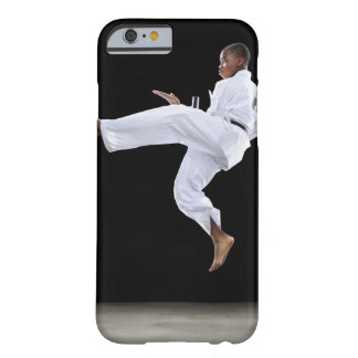 A Boy (15 Years Old) doing a front kick Barely There iPhone 6 Case