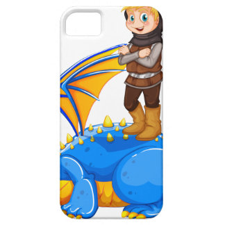 A boy taming the dragon case for the iPhone 5