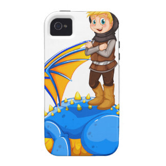 A boy taming the dragon iPhone 4/4S covers