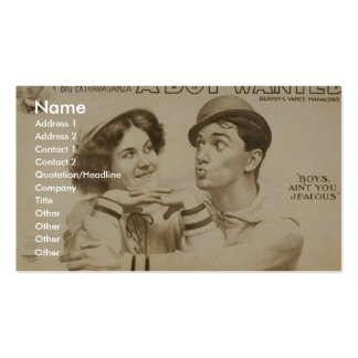 A Boy Wanted Girl Boy s Ain t you Jealous Business Cards