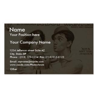 A Boy Wanted Girl Boy s Ain t you Jealous Business Card Templates