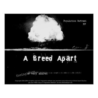 A Breed Apart Poster