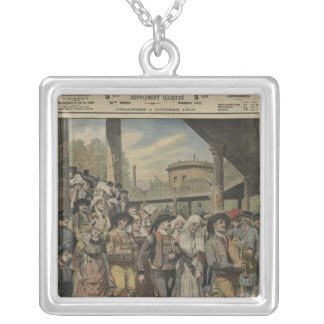 A Breton wedding right in Paris Silver Plated Necklace
