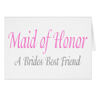 A Bride's Best Friend Greeting Card