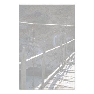 A bridge near Satevo, Chihuahua State, Mexico Stationery Design