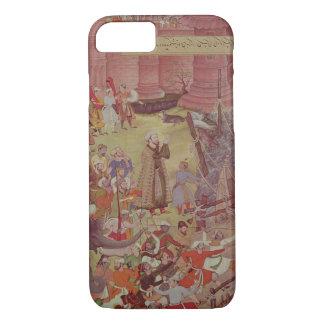 A Bridge of boats broken by Akbar (r.1556-1605) on iPhone 8/7 Case