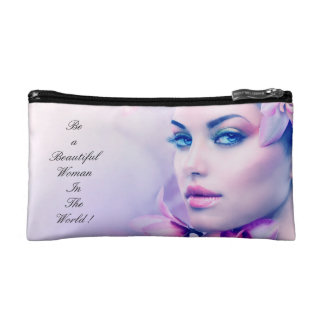 A brief look with mini makeup bag , easy to carry