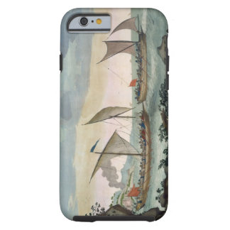 A Brigantine giving chase to a Felucca, and about Tough iPhone 6 Case
