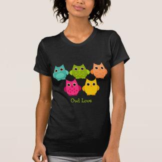 A Bright Bunch of Owls Tshirts