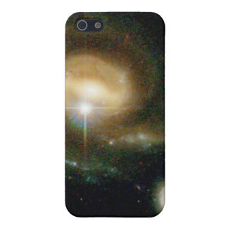 A Bright Galaxy Interacts With a Companion Cover For iPhone 5/5S