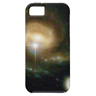 A Bright Galaxy Interacts With a Companion iPhone 5 Cover