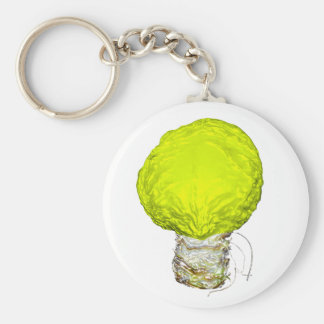 A Bright Idea About Cabbage Basic Round Button Key Ring