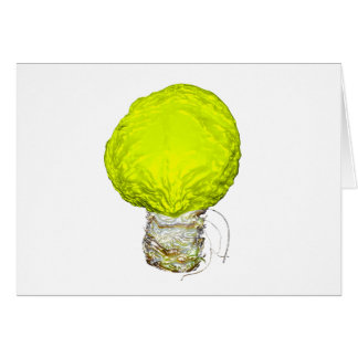 A Bright Idea About Cabbage Greeting Card