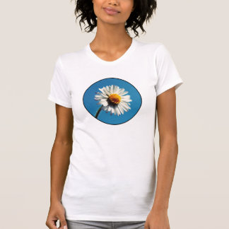 A Bright White Daisy under a Big Blue Sky Tee Shirts
