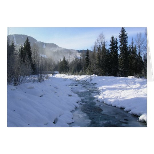 A brisk morning walk to Whistler Village Card