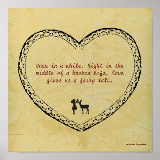 A Broken Life Fairy Tale Poster