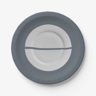 A Broken Saucer on a Plate Plate