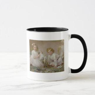 A Brother and Sister Playing, 1915 Mug