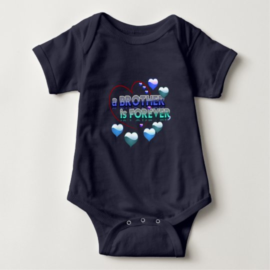 A brother is forever baby bodysuit